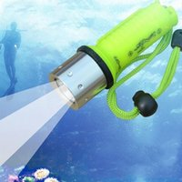 Wholesale Underwater Hunting - 2016 New Arrival Professional LED Torch Lantern Lighting Light Underwater Diving LED Flashlight Torch Waterproof Portable Lamp