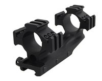 Airsoft Tactical 30 milímetros One Piece offset Tri Rail Mount Rifle Âmbito Anéis Picatinny Rail Hunting Mount