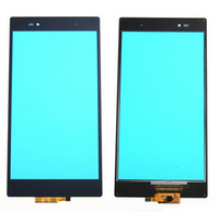 Wholesale Touch Screen Xperia Z - New Black Touch Screen For Sony Xperia Z Ultra XL39h XL39 C6802 Touch Screen Panel Digitizer