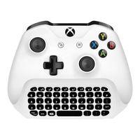 Wholesale Usb Microsoft Keyboard - Poctek Mini 2.4G Wireless Keyboard Message for Microsoft Xbox Gamepad Joystick USB Control Controller Chatpad