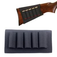 Wholesale Rifle Shell Holder - Butt Stock Buttstock Rifle Shotgun Shell Cartridge Holder Carrier for 12G 12 Gauge 20G 20 Gauge