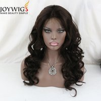 Wholesale Baby Curl Remy - JOYWIGS Deep Curl Full Lace wig Remy Indian hair glueless full lace human hair wigs with baby hair virgin lace front wig for women