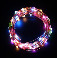 Wholesale String Light Wire - Led String Starry Lights 10m 100 LEDs Copper Wire Fairy Lights for indoor and Outdoor,Gardens,Homes,Christmas,Party,Wedding