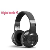 Wholesale Headset Wireless For Telephone - Original bluedio HT Wireless Bluetooth headphones for Headset mobile phone PC telephone bludio with Microphone headband with retail box