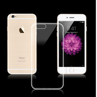 Wholesale 6g tpu clear case for sale - Transparent Silicon Cover For Iphone g g S plus transparent TPU Gel Crystal Clear soft Silicon Case Back Cover