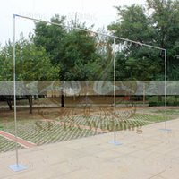 Wholesale Wedding Party Decorations For Cheap - Cheap Price Wedding Backdrop Stand Stage Stent For Wedding Decoration Free Shipping