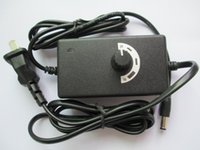 Wholesale speed controller 12v online - AC DC Adapter V A W M Adjustable Power Supply Motor Speed Controller Fedex DHL Free