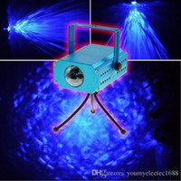 3W Led Stage Light Blue Eau Effet Wave Rapple Projecteur pour Party Show Disco de divertissement KTV Fond Effet incroyable
