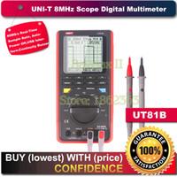 Wholesale Digital Oscilloscope Ut81b - Wholesale-Uni-t Ut81b Handheld LCD Scopemeter Oscilloscope Digital Multimeter