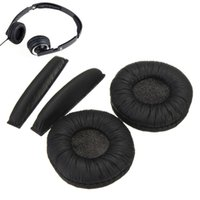 Wholesale Headphone Sennheiser - Wholesale Soft Replacement Ear Pads Headband Cushions For Sennheiser PX100 PX200 Protective Headphones Black