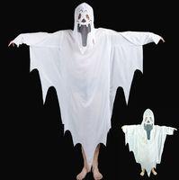 Wholesale vampire woman costume movie online - Family Cosplay Clothing White Vampires Terror Ghost Theme Costume Men Women Child Halloween Clothes