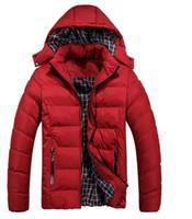 Wholesale Men S Down Jackets Sale - Fall-HOT SALE 2016 Winter men's clothes down jacket coat,men's outdoors sports thick warm down jacket men's Coats Jacketset