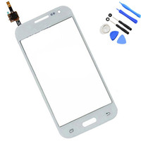 Wholesale s3 screen white - For Samsung Galaxy Core Prime G360 G360F New White black Outter Touch Screen Panel Digitizer Glass Lens Repair Replacement Parts