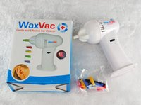 Wholesale Ear Wax Vac - Wax Vac ear cleaner ear cleaner sucking device of electric ear device with TV lamp Ershao spot