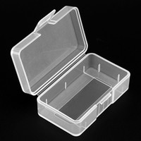 Wholesale 9v battery holder plastic resale online - Soshine Portable Hard Plastic Case Holder Storage Box for Piece V Battery BTY_A00