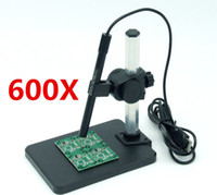 Wholesale Digital Usb Microscope Video Camera - Mini Focusable USB Digital Pen Microscope Video Endoscope Otoscope Microscope pen 600X