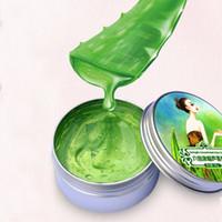 yatıştırıcı jel toptan satış-30g sıcak satış Aloe Vera Jel Yatıştırıcı Nemlendirici Yağ kontrolü Dolum suyu Beyazlatma Krem Anti-Akne Yüz Bakımı ücretsiz kargo