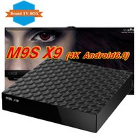 Venta de la fábrica M9S X9 Smart Android 6.0 TV Box Rockchip RK3229 Quad Core Google Set Top Box KD17.3 totalmente cargado KD17.3 Jarvis