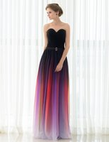 Wholesale Colorful Pleat Evening Dresses - 2017 New Arrival Real Pictures Prom Dresses Colorful Chiffon Pleat A-Line Off the Shoulder Sweetheart Bandage Prom Gowns Cheap Evening Dress
