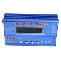 batterien für hubschrauber großhandel-Freeshipping heißer Maxax B6 MINI 80W maximaler Balancen-Ladegerät-Entlader für RC Hubschrauber-Batterie, die Re-Spitze Modus für NIMH / NICD Batterien auflädt