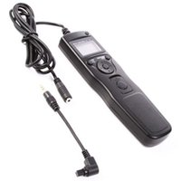 Wholesale 1ds Mark Ii - LCD Timer Remote Shutter Release Cord For Canon 7D 1D 5D Mark II 50D 1Ds 5Ds R
