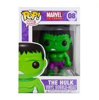 Wholesale Pop Figure Funko - New hot sale Funko POP The Avengers The Hulk Toy PVC Action Figure Collectible Kids Toys Gifts for Children 8CM