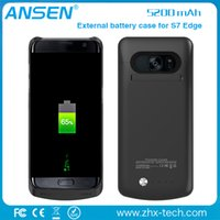 Wholesale Direct Wholesale Supplier - 2017 top selling China supplier battery batteries external wholesale power charger case for samsung galaxy s7 edge