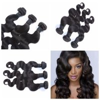 Peruvian Hair order free samples - Sample Order Epacket Malaysian Body Wave Hair Weaves Unprocessed Wavy Human Hair weaves no shedding G EASY hair