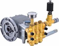 Wholesale piston pressure pump - Hot Sale High Pressure Cleaning Pump Head 18L min Piston Pump Car Wash Pump 7Mpa Water Pump