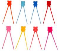ingrosso bacchette di silicone-Bacchette in silicone per bambini Bacchette da allenamento per bambini resistenti al calore a forma di animale per regali creativi multi colore 2 2qha C R