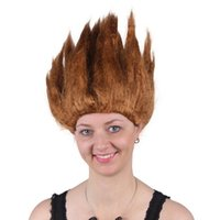 Wholesale Wig Japan - Japan Dragonball Wukong Halloween Party Dragon Ball Z GoKu Cosplay Costume Children Adult Wig 6 Colors Carnival Cosplay Wigs