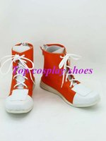 Wholesale Hitman Cosplay - Wholesale-Freeshipping anime Hitman Reborn Cosplay Tsunayoshi Sawada Cosplay Shoes custom-made Hand made for Halloween Christmas