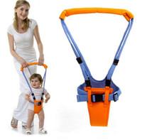 emniyet kemeri toptan satış-Yeni Bebek Yürüyor Koşum Bebek Güvenli Yürüyüş Öğrenme Yardımcısı Kemer Çocuklar Yürüyor Ayarlanabilir Yürüteç Jumper Kayış Kemer Tasması
