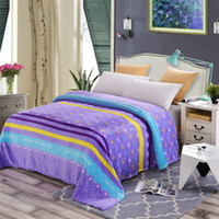 Wholesale Cheap Bedclothes - Cheap 200x230c Home textile many styles super warm soft blankets throw on sofa bed  travel bedclothes Blanket can be as bed sheet