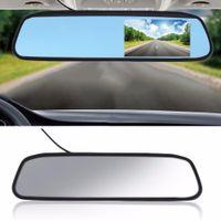 auto rückansicht kamera rückspiegel großhandel-Auto Monitor 4,3