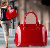 Red Patent Leather Shoulder Bag Price Comparison | Buy Cheapest ...