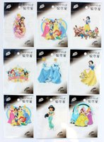 Wholesale Wholesale Iron Princess Patches - Free Shipping 100PC Classic Character Snow White Princess Embroidered iron on patch Motif Applique garment embroidery patches DIY accessorie