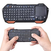Wholesale Google Android Touchpad Tablet Pc - BT05 Mini Bluetooth Keyboard with Built-in Touchpad for Android TV Box PC Tablet IPTV Smart Phones Google TV