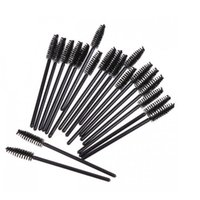 Hochwertige Make-up Pinsel Wimpern One-off-Wimper-Bürsten Mascara-Stab-Applikatoren-Wegwerfaugenpeitsche 50PCS / bag DHL-freies Verschiffen