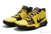Wholesale Silver Glitter Band - kyrie 3 bruce lee Mamba Mentality cheap sale Top Quality Basketball shoes Kyrie Irving sneakers free shipping us7-us12
