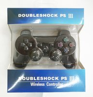 Wholesale Wireless Bluetooth Gamepad Controller Wholesale - With retail box For PlayStation 3 PS3 Wireless Bluetooth Game Controller Gamepad