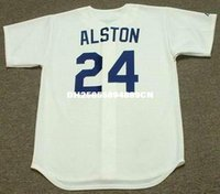 WALTER ALSTON Los Angeles Dodgers Majestic Cooperstown casa baseball Jersey