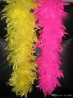Glam Flapper Dance Fancy Dress Kostüm Zubehör Feather Boa Schal Wrap Burlesque kann Can Saloon