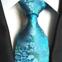 Wholesale Jacquard Purple Paisley Necktie - New Handmade Men Ties Silk Paisley Jacquard Tie Wedding Prom Party Neck Ties Business Formal Ties Fashion Stripes Plaids Dots Neckties A180