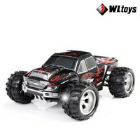 Wholesale High Speed Truck - 50KM H Free Shipping 2015 NEW Wltoys A979 A959 L202 High speed 4WD off-Road Rc Monster Truck, Remote control car toys rc car