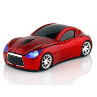 Souris Voiture Sport Gros Pas Cher-Livraison gratuite Wholesale Computer Mouse 2.4GHz Infiniti Sports Car Wireless Mouse 1000 DPI Optical Gaming Mice pour PC portable