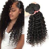 Wholesale Soft Wave Brazilian Hair Weave - Brazilian Deep Wave Virgin Hair Bundles Unprocessed Brazilian Curly Virgin Hair Soft Brazilian Human Hair Deep Wave