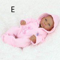 Wholesale China Hot Doll - Hottest Sale Christmas Gift Kids Playmate Preschool Education Baby Reborn Toys Children Dolls 28 cm Simulation Reborn Dolls Gifts Silicone