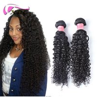 Wholesale human hair extensions 26 set resale online - xblhair curly human hair extensions kinky curly hair virgin brazilian human hair bundles pieces one set