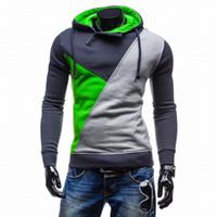 Wholesale Mens Suit Jacket Pattern - 2016 Hoodies Men Sudaderas Hombre Hip Hop Mens Patch Hooded Jacket Sweatshirt Sport Suit Slim Fit Men Hoody at CNSTREET